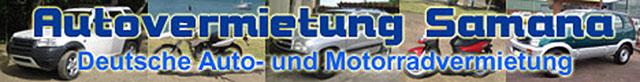 Deutsche Autovermietung in Samana